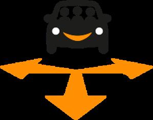 Ride Sharing Icon
