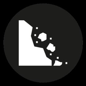 Mitigation Measures - Erosion Icon